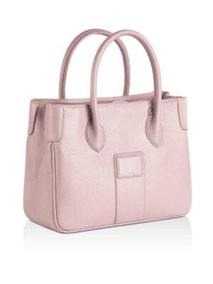 borsa Charleston in pelle rosa