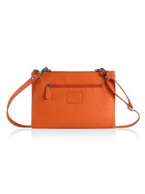 borsa a tracolla arancione