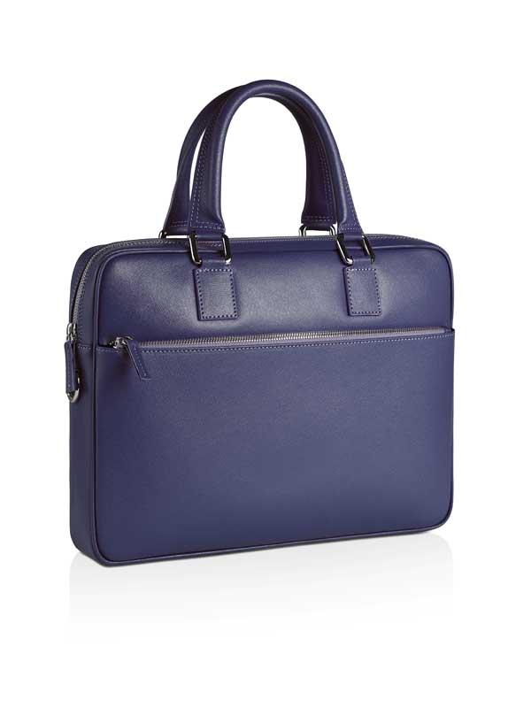 borsa da lavoro blu