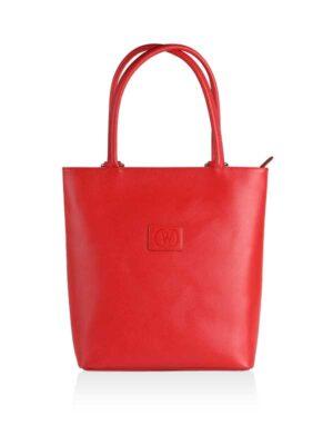 borsa zaino rossa
