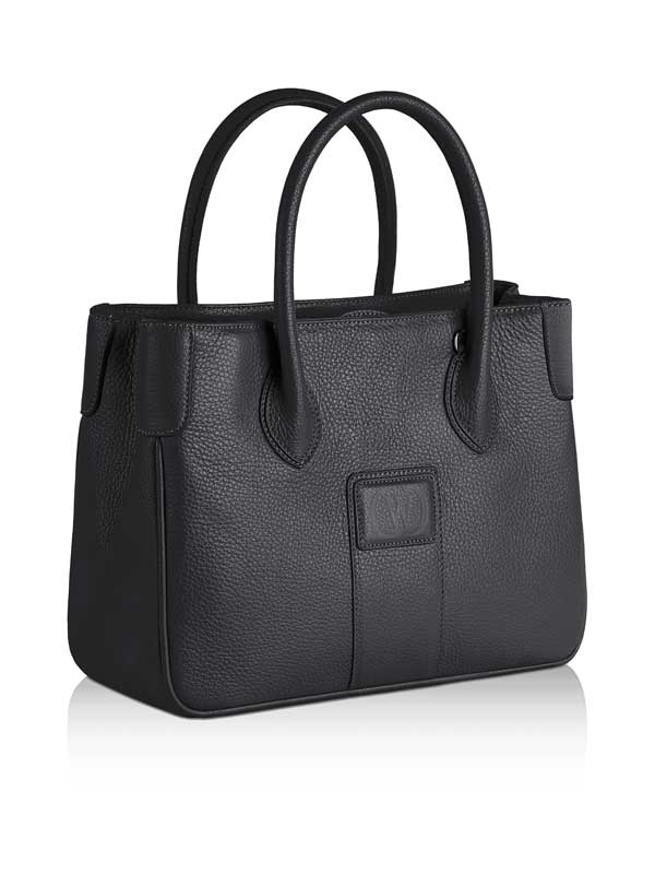 borsa Charleston in pelle nera