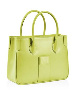 borsa palmellato color lime