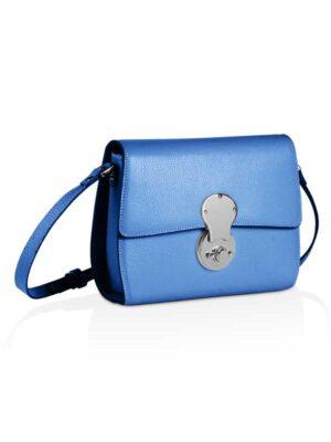 borsetta tracolla blu elettrico