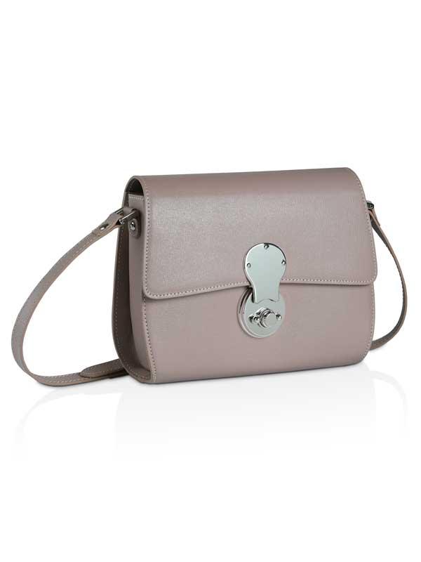 borsetta a tracolla rosa antico