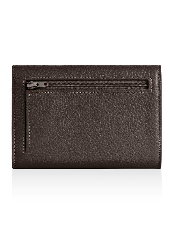 Retro portafoglio taupe