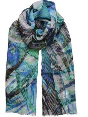 effetto della sciarpa indossata