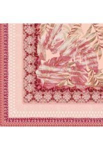 maxi foulard rosa rosso