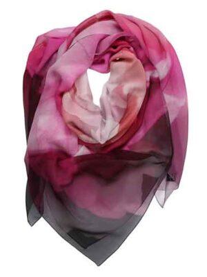 maxi foulard indossato
