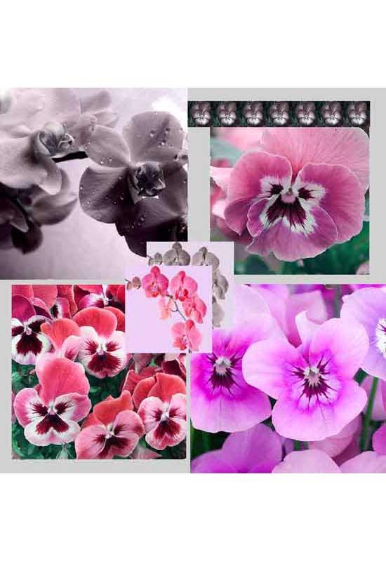 foulard floreale
