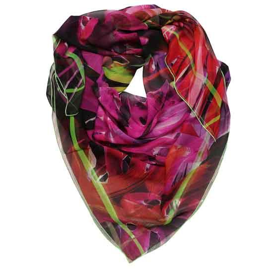 dettaglio del maxi foulard