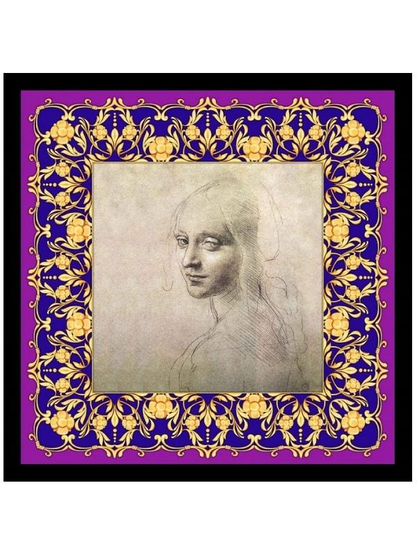 foulard dedicato a Leonardo
