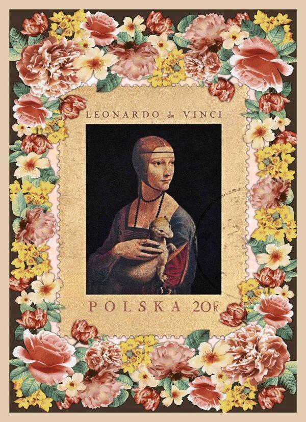 foulard Leonardo da Vinci
