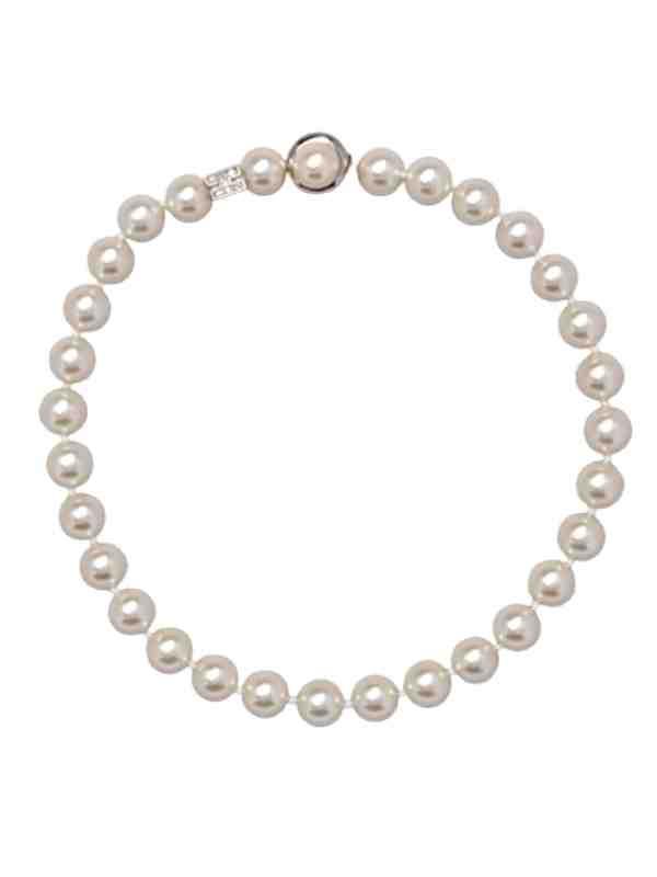 girocollo perle a un filo
