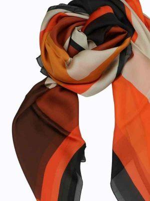 Foulard 140x140 B orange