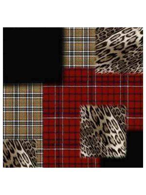 Foulard 140x140 leo tartan (2)