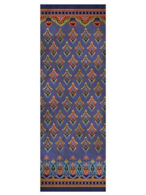 Foulard 65x180 blu