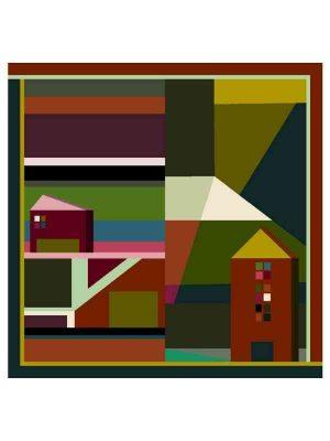 Foulard 69x69 case verde (1)